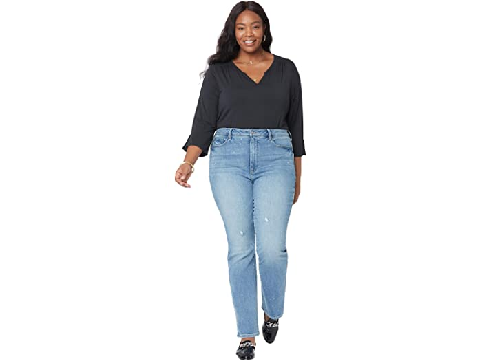 NYDJ Plus Size Plus Size Slim Bootcut Jeans in Sandspur