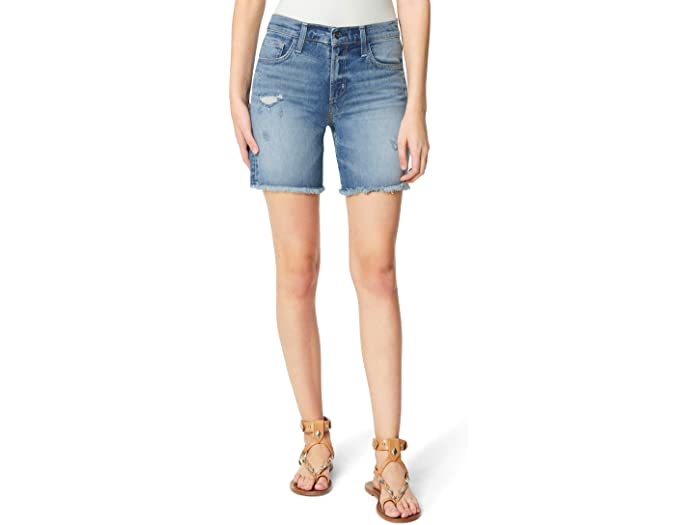 "Joe's Jeans 7"" Bermuda Shorts in Anything But"