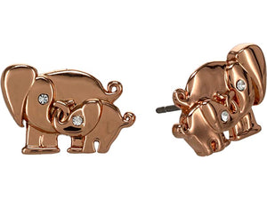 Kate Spade New York Elephant Studs Earrings - Boxed