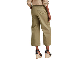 LAUREN Ralph Lauren Cotton Twill Wide-Leg Pants