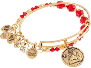 Alex and Ani Cherub Set of 2