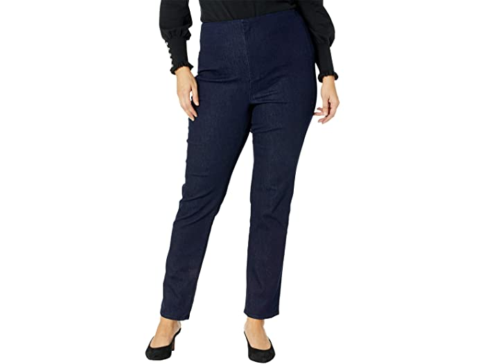 NYDJ Plus Size Plus Size Marilyn Straight Forever Slimming Jeans in Rinse