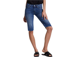 Hudson Jeans Amelia Cutoffs Knee Shorts in True Colors