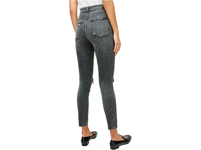 7 For All Mankind High-Waist Ankle Skinny in Retro Silverlake Boulevard