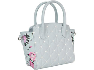 Luv Betsey Kassie PVC Top-Handle Satchel with Crossbody Strap