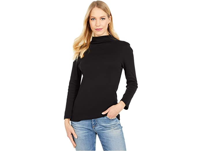 Michael Stars 1X1 Cotton Turtleneck
