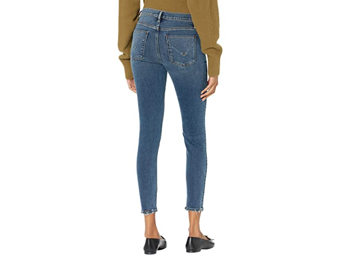 Hudson Jeans Nico Mid-Rise Super Skinny in Worn Shakedown