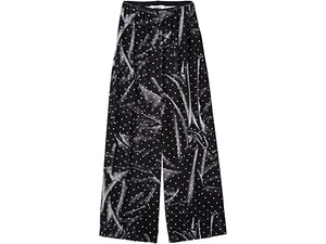 MM6 Maison Margiela Printed Dot Detail Big Pants
