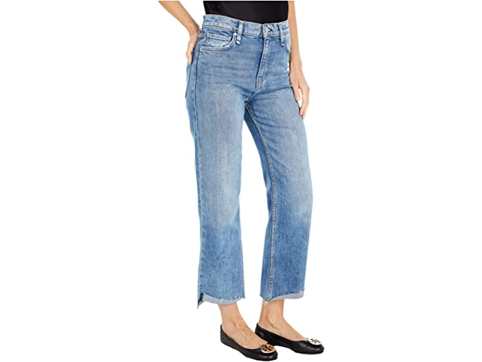 Hudson Jeans Remi High-Rise Straight Cropped in Nostalgic