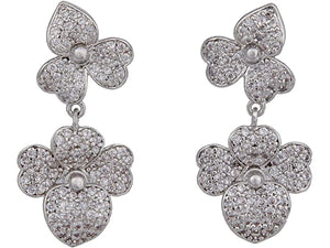 Kate Spade New York Pave Statement Drop Earrings