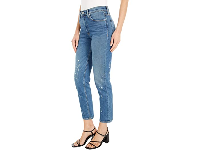 Hudson Jeans Barbara High-Waist Crop Straight in Balance