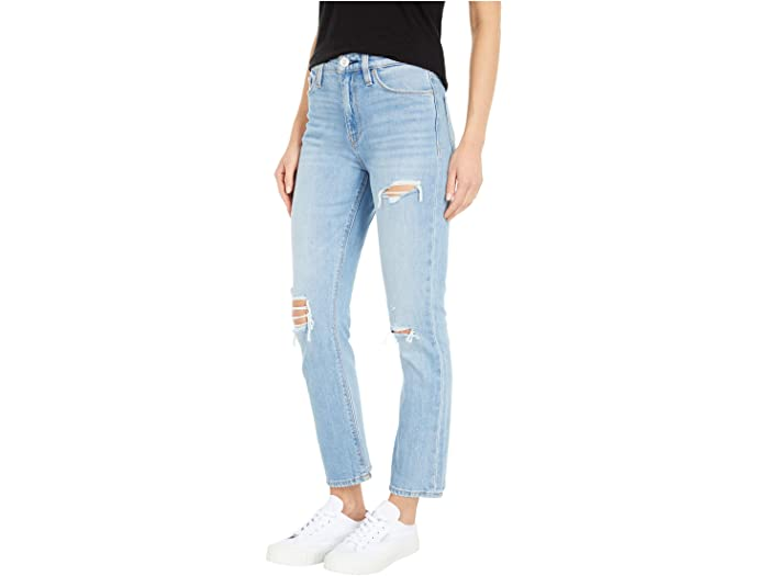Hudson Jeans Holly High-Rise Crop Bootcut in Brightside