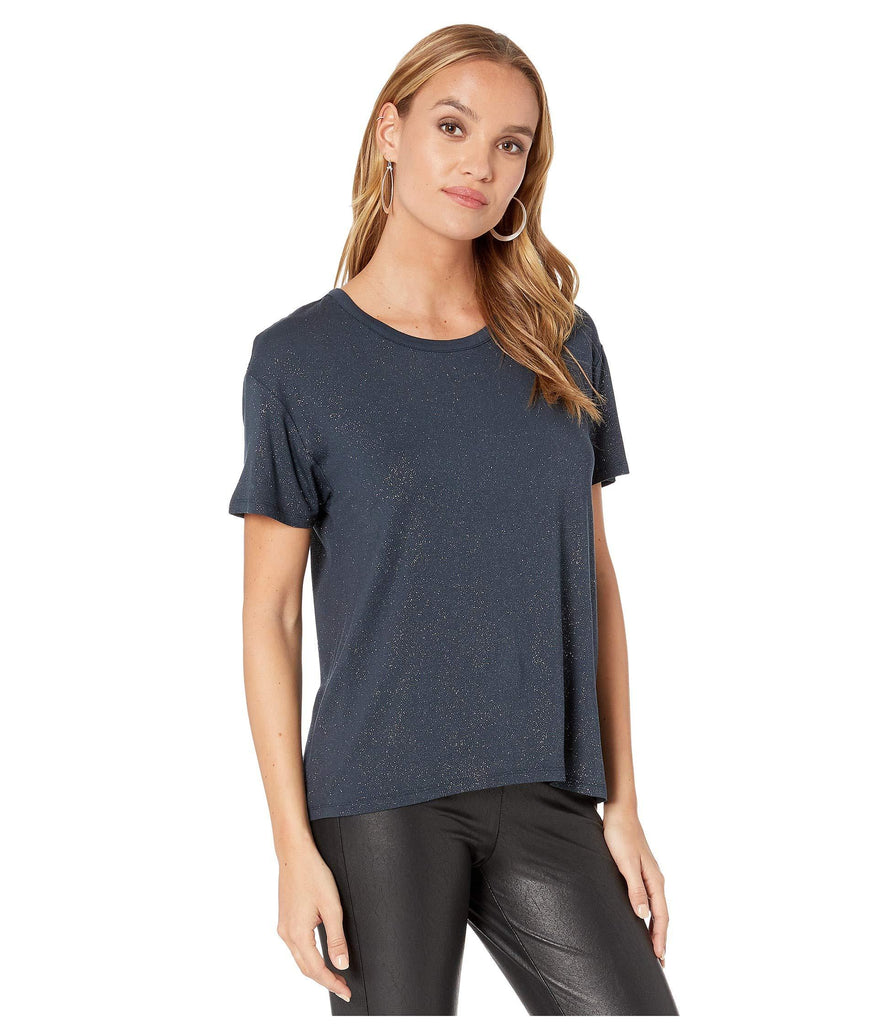 Diamond Jersey High-Low Boxy Tee