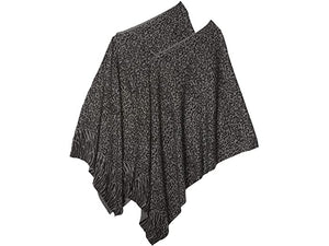 Tribal Two-Piece Poncho Scarf