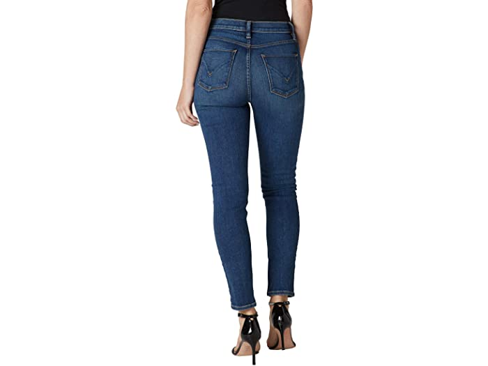 Hudson Jeans Barbara High-Waist Supreme Skinny Ankle in Spiral