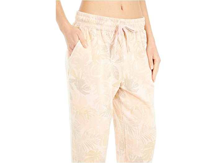 Splendid Palm Printed Tie Waist Pants