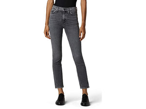 Hudson Jeans Holly High-Rise Straight Ankle in Mercenary
