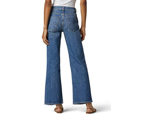Hudson Jeans Rosie High-Rise Wide Leg in Hysteria