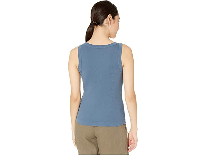 Michael Stars Paloma 1x1 Cotton Wide Binding Tank Top