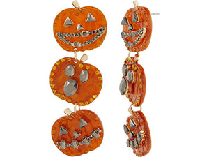 Front Row Pumpkin Earrings 32901