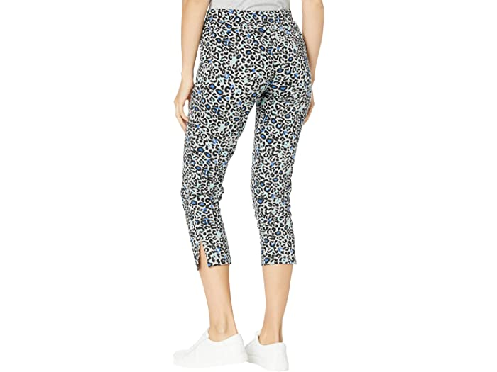 Mod-o-doc Leopard Print French Terry Cropped Sweatpants