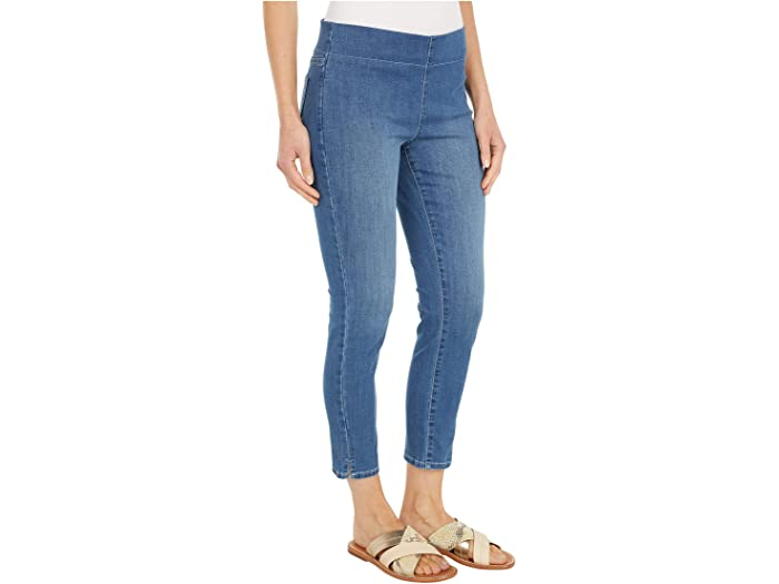 NYDJ Petite Petite Skinny Ankle Pull-On Jeans In Cool Embrace® Denim in Deleon