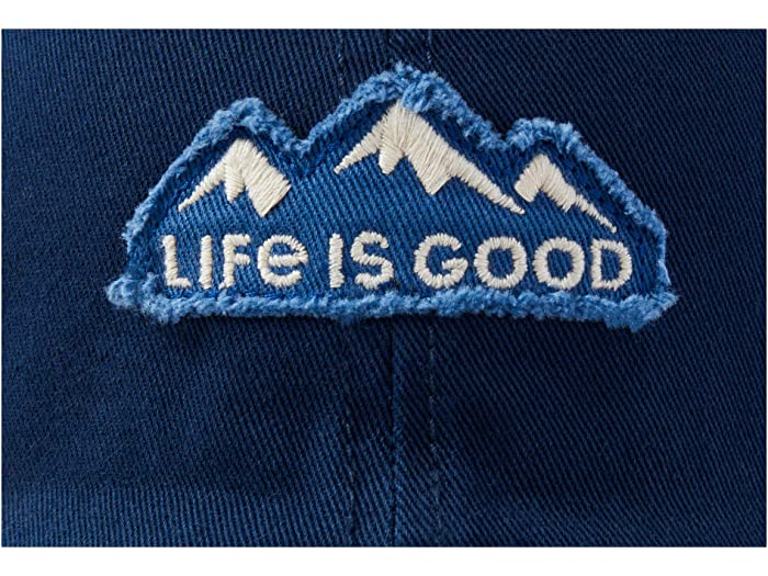 Life is Good LIG Mountain Tattered Chill Cap