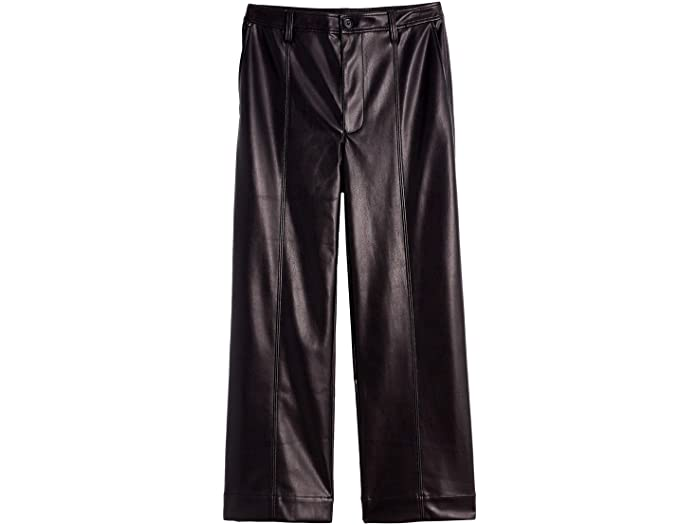 Madewell Slim Emmett Pants in Faux Leather