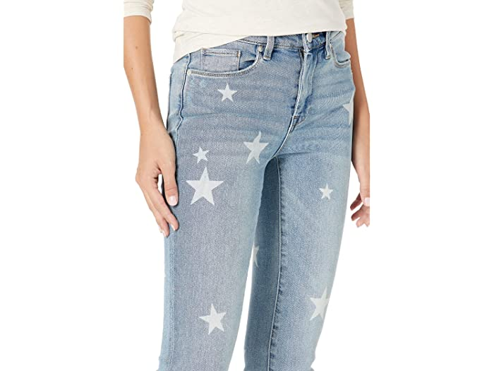 Blank NYC Madison High-Rise Crop Star Detailed Skinny Jeans in Ever After