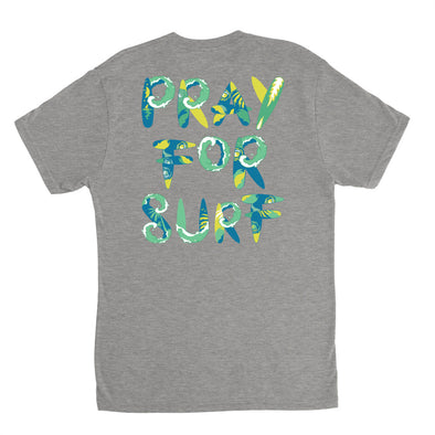 Pray for Surf LS Tri-Blend Tee