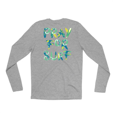 Pray for Surf LS Long Sleeve Tee
