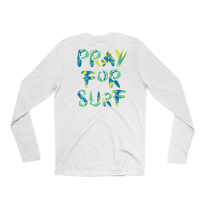 Pray For Surf SL Long Sleeve Tee