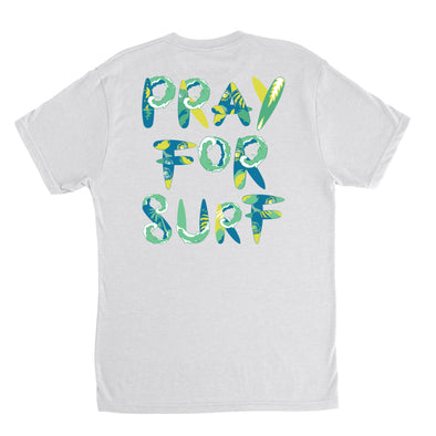 Pray For Surf SL Tri-Blend Tee