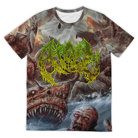 Officially Licensed Atoll - Zoopocalypse All Over Tee
