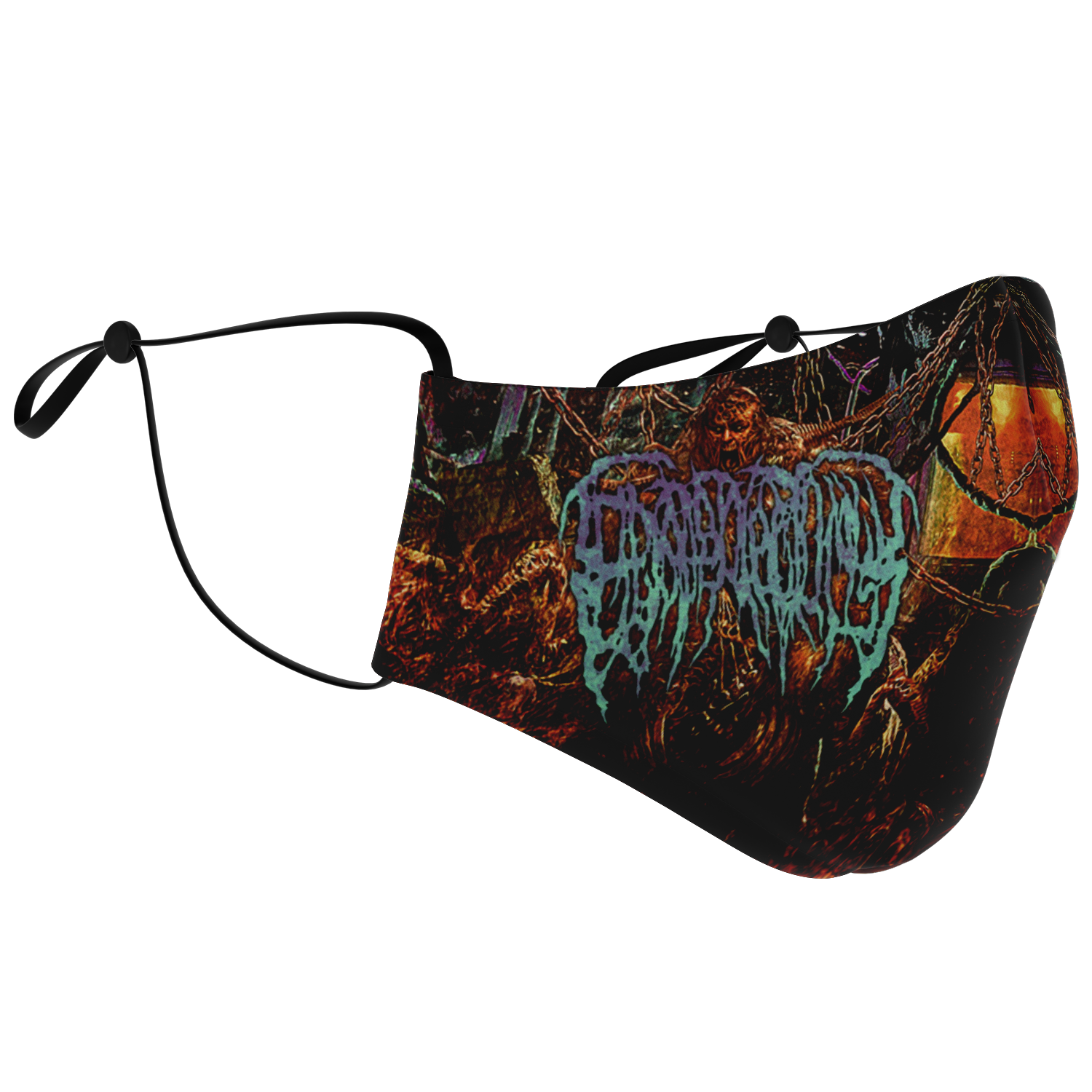 Officially Licensed Epicardiectomy - Abhorrent Stench of Posthumous Gastrorectal Desecration Mask