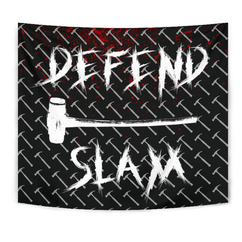 Official DEFEND SLAM Tapestry