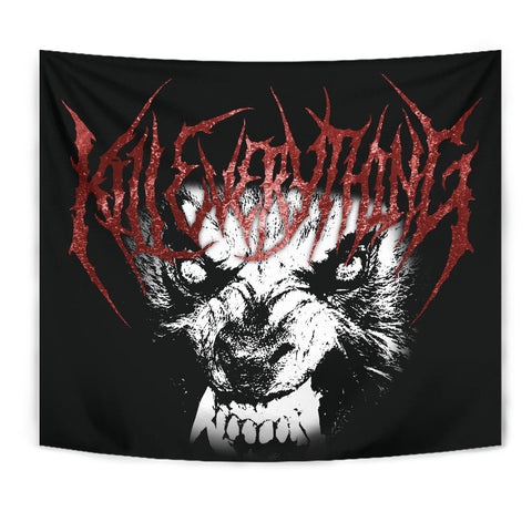 Officially Licensed Kill Everything Werewolf Tapestry