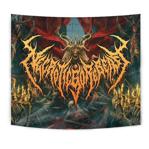 Officially Licensed NecroticGoreBeast Tapestry