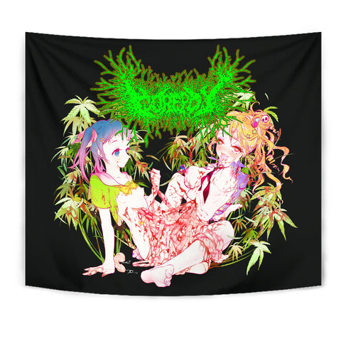 Officially Licensed Gorepot Anime Tapestry