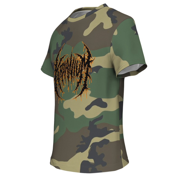 Officially Licensed Kraanium Woodland Camo Tee