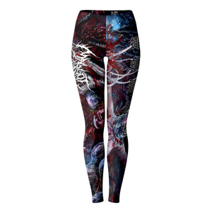 Officially Licensed Maggot Colony - Perpetuating The Viral Infestation Leggings