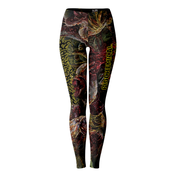 Officially Licensed Diphenylchloroarsine - Post Apocalyptic Human Annihilation Leggings