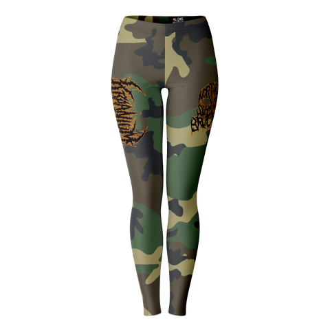 Officially Licensed Kraanium Woodland Camo Leggings