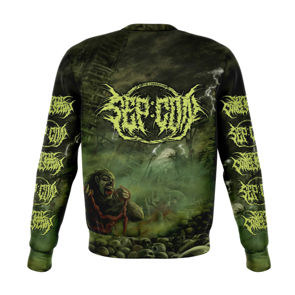 Officially Licensed Septic Congestion All Over Crewneck