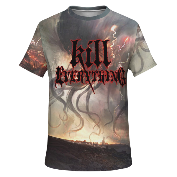 Officially Licensed Kill Everything - Scorched Earth All Over Tee