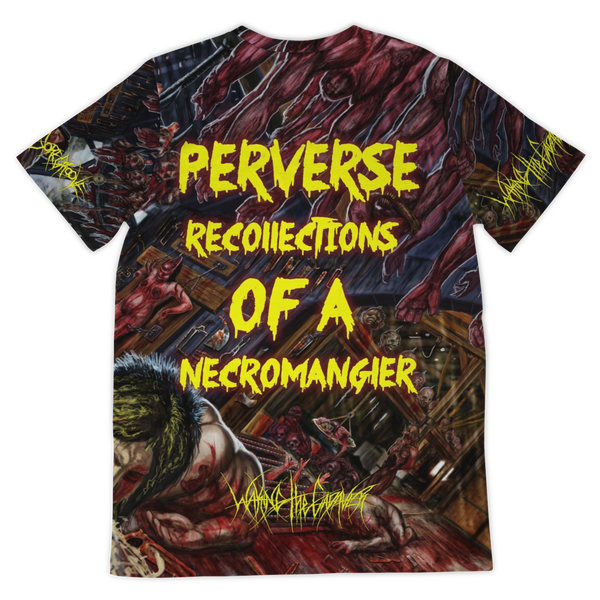 Officially Licensed Waking The Cadaver - Perverse Recollections Of A Necromangler All Over Tee