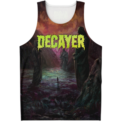 Officially Licensed Decayer - Talented Sun All Over Tank Top