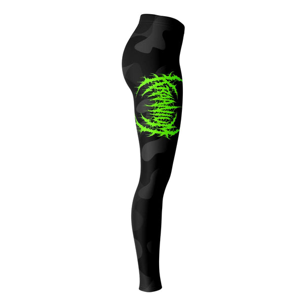 Officially Licensed Kraanium Black Camo Leggings