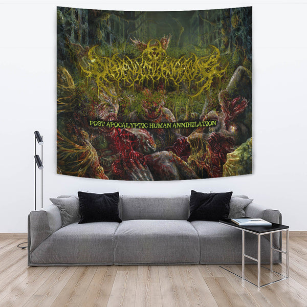 Officially Licensed Diphenylchloroarsine - Post Apocalyptic Human Annihilation Tapestry