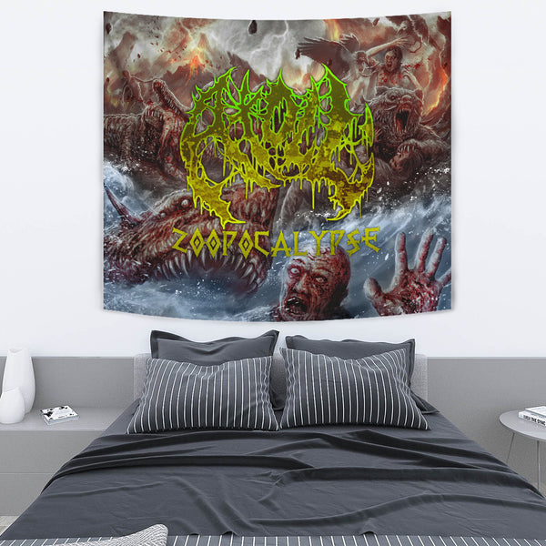 Officially Licensed Atoll - Zoopocalypse Tapestry